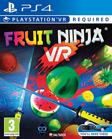 Fruit Ninja (PSVR/PS4) [Importación inglesa]: Amazon.es ...