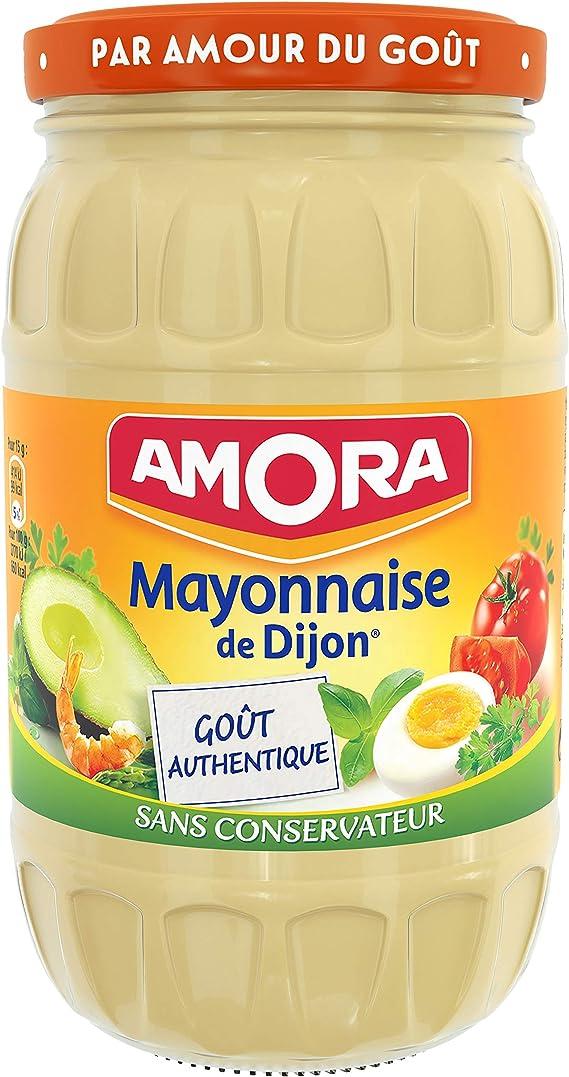 Amora Mayonnaise De Dijon Nature œufs De Poules Elevees En Plein