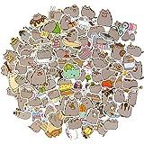 Cute Cat Stickers, Kawaii Stickers for Laptop Waterproof Vinyl Stickers, Water Bottles Stickers Skateboard Stickers for…