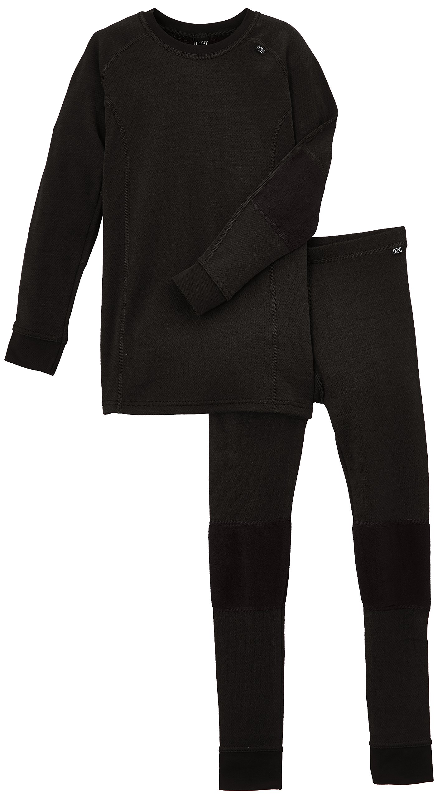 Helly Hansen Junior Lifa Merino Baselayer Set, Black, Size 10 by Helly Hansen (Image #1)