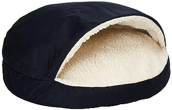 Snoozer ortopédica Cozy cueva cama para mascotas, grande, azul marino: Amazon.es: Productos para mascotas
