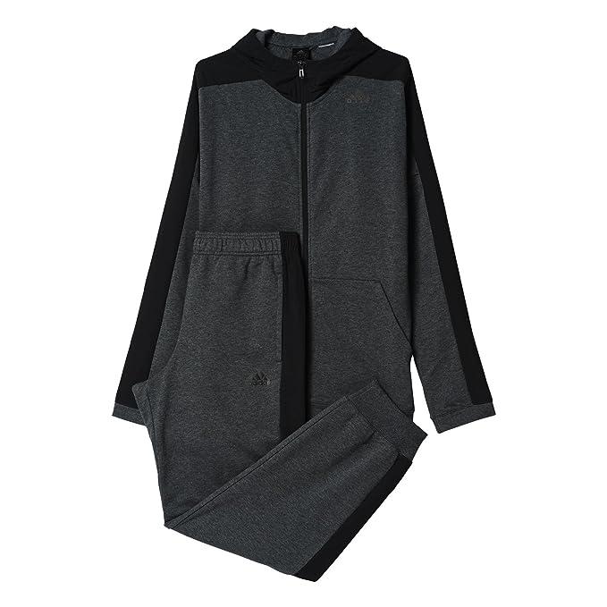 adidas Trainingsanzug Hooded Jogger Chándal, Hombre: Amazon.es ...