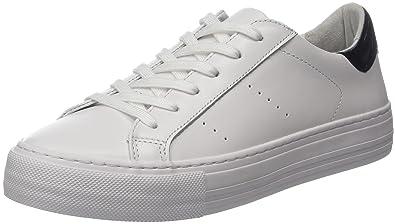No Name Arcade Sneaker Nappa, Baskets Basses Femme, Blanc (White), 41 EU