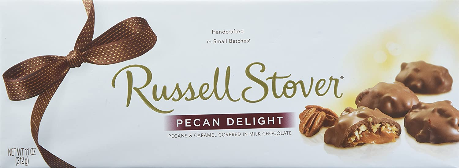 Amazon.com : Russell Stover Pecan Delight 11 Ounce Box : Candy And ...