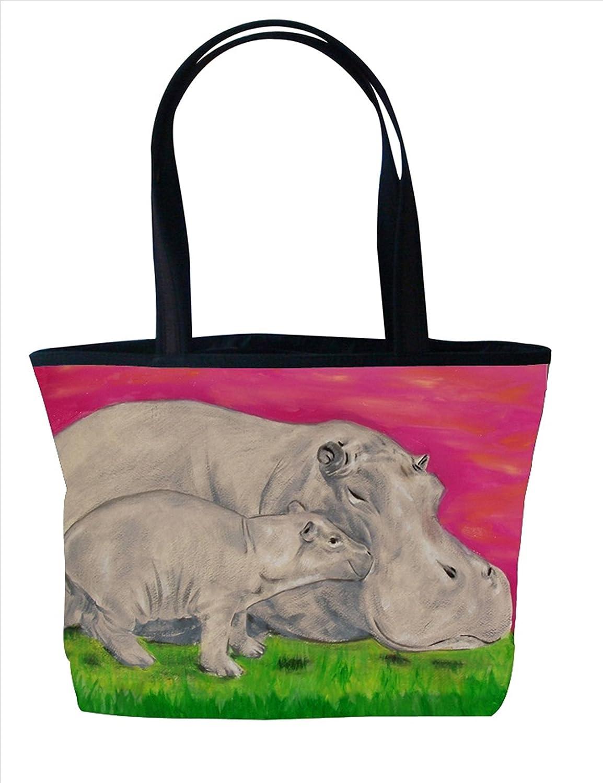 Shoulder Bag, Vegan Tote Bag, Handbag- Animals - From My Original Paintings - Support Wildlife Conservation, Read How