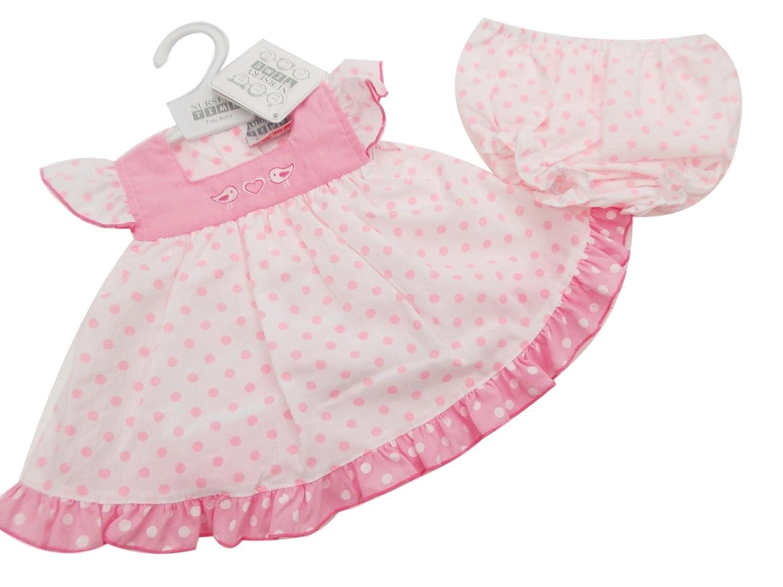Premature Baby preemie Girl Dress set Hat Pants Tiny  White Pink reborn 3-10lbs