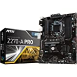 MSI Z270 A Pro Scheda Madre, Interfaccia ATX, Socket Intel 1151, Nero