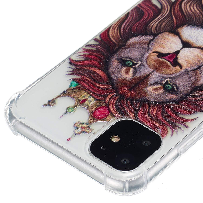 /Él/égant Peinture /à lhuile Motif /Étui en Silicone Souple Cheval 3 4,7 Pouces avec Verre Tremp/é Flexible Plein-Corps TPU Bumper Housse Etui de Protection Boloker Coque Compatible iPhone 6 // 6S