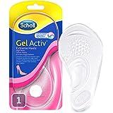 Scholl Gel Activ innersula för högklackade skor med pinnar över 5,5 cm - Ultramjuk gel innersula för extrem komfort - 1…