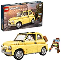 LEGO Creator Expert Fiat 500 10271 Toy Car Building Set for Adults and Fans of Model...