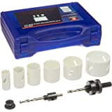 Neiko 00817A Professional Grade Bi Metal Hole Saw Kit, 9 Piece