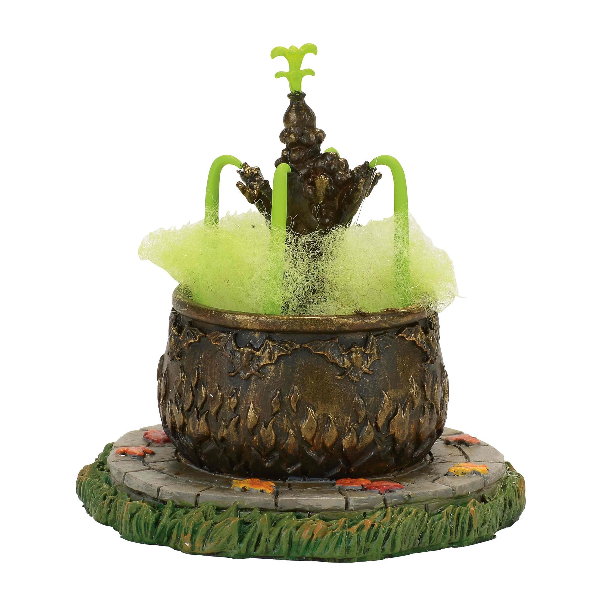 Department 56 Accessories for Villages Halloween Toad Fountain Figurine (4057616)