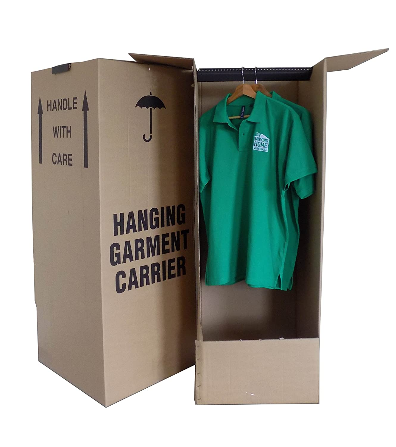 3 x Wardrobe Garment Removal Boxes 24HR DEL Amazon
