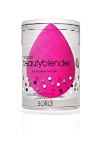 BEAUTYBLENDER Original Blender Makeup Sponge with Mini blendercleanser Solid. Vegan, Cruelty Free and Made in the USA