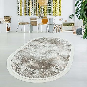 Carpet City Druck Teppich Flachflor Polyester Waschbar Klassisch