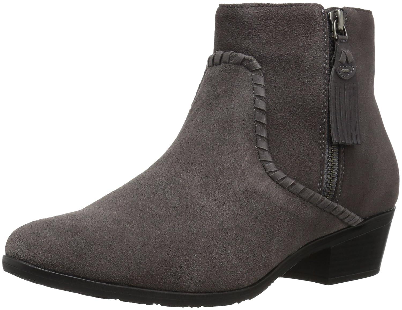Jack Rogers Women's Dylan Waterproof Ankle Boot B06WWNXJ7F 11 M US|Charcoal Suede