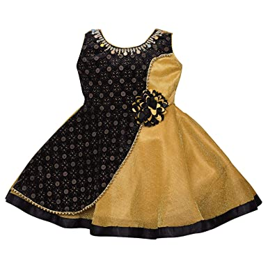 5b685788c Wish Karo Baby Girls Net Frock Dress - (fe2626)  Amazon.in  Clothing ...