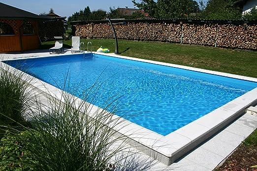 Summer Fun - Set de piscina de poliestireno, incluye filtro de arena London 800 x 400 x 150 cm: Amazon.es: Jardín