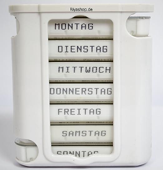 Pillenbox Pillendose, Medikamentenbox.Tablettenbox,Pillenbox, Für ...