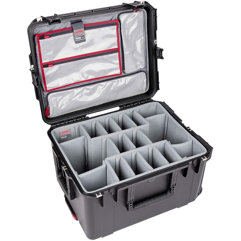 SKB Cases 3i-2217-12PL iシリーズ 写真/ビデオケース シンクタンクデザイン 写真用仕切りと蓋付きオーガナイザー   B07NPWF451