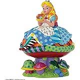 Enesco Disney By Britto 4049693 Figurine Alice au Pays des Merveilles Figurine Multicolore 22 cm