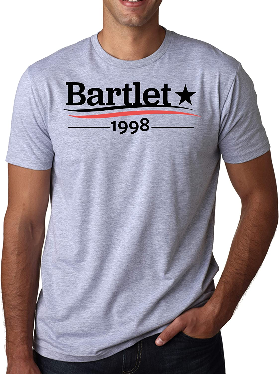 ShutUp Co. West Wing President Bartlet 1998 Camiseta para Hombre