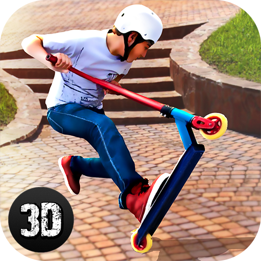 Urban Master Scooter Rider Insane Stunts: Extreme Sports Park Driving
