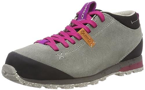 AKU Bellamont Suede, Zapatillas de Senderismo para Mujer, Grau (Light Grey/Magenta), 41 EU: Amazon.es: Zapatos y complementos