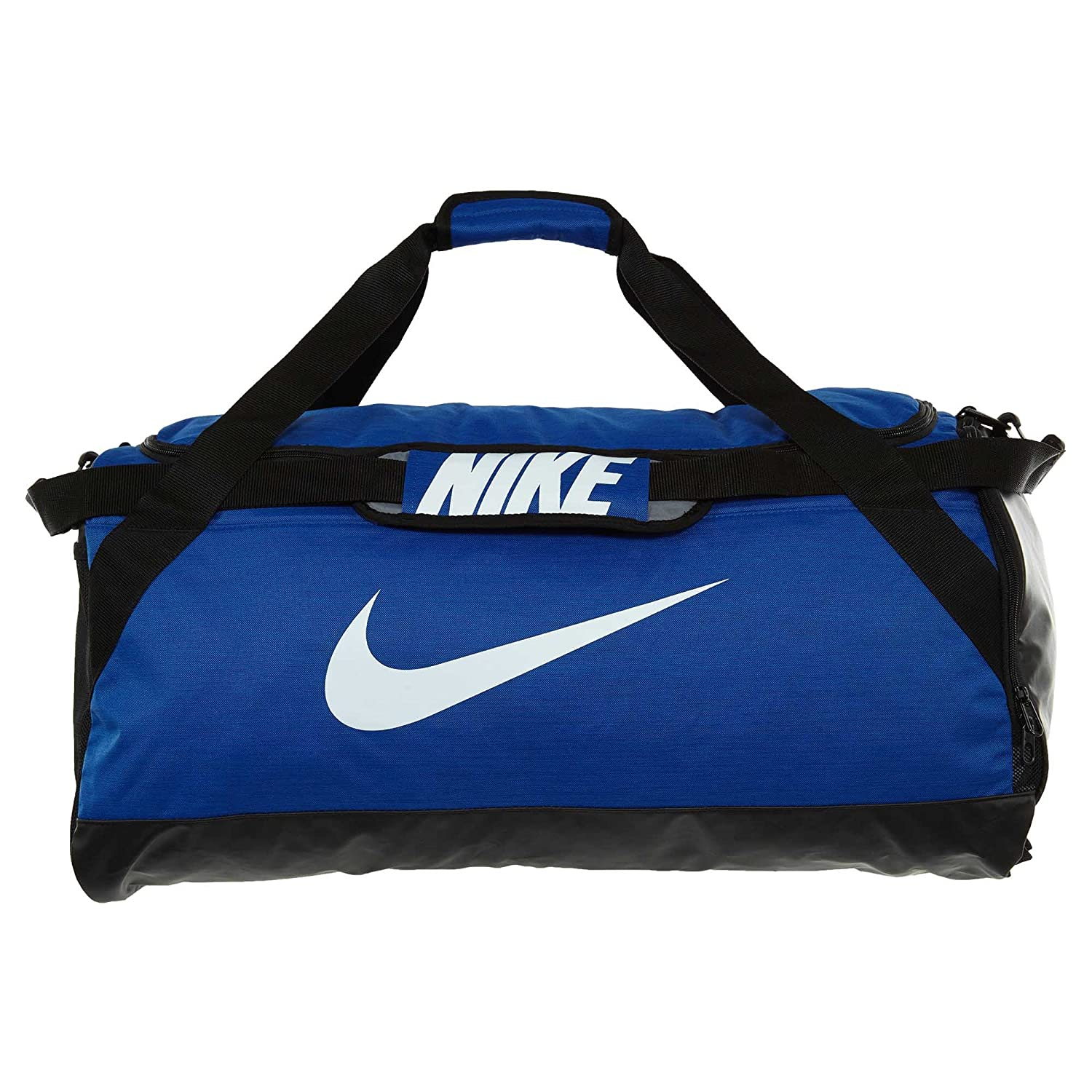 98b3a47e9e3 Amazon.com  NIKE Brasilia Training Duffel Bag, Black Black White, Large   NIKE  Sports   Outdoors