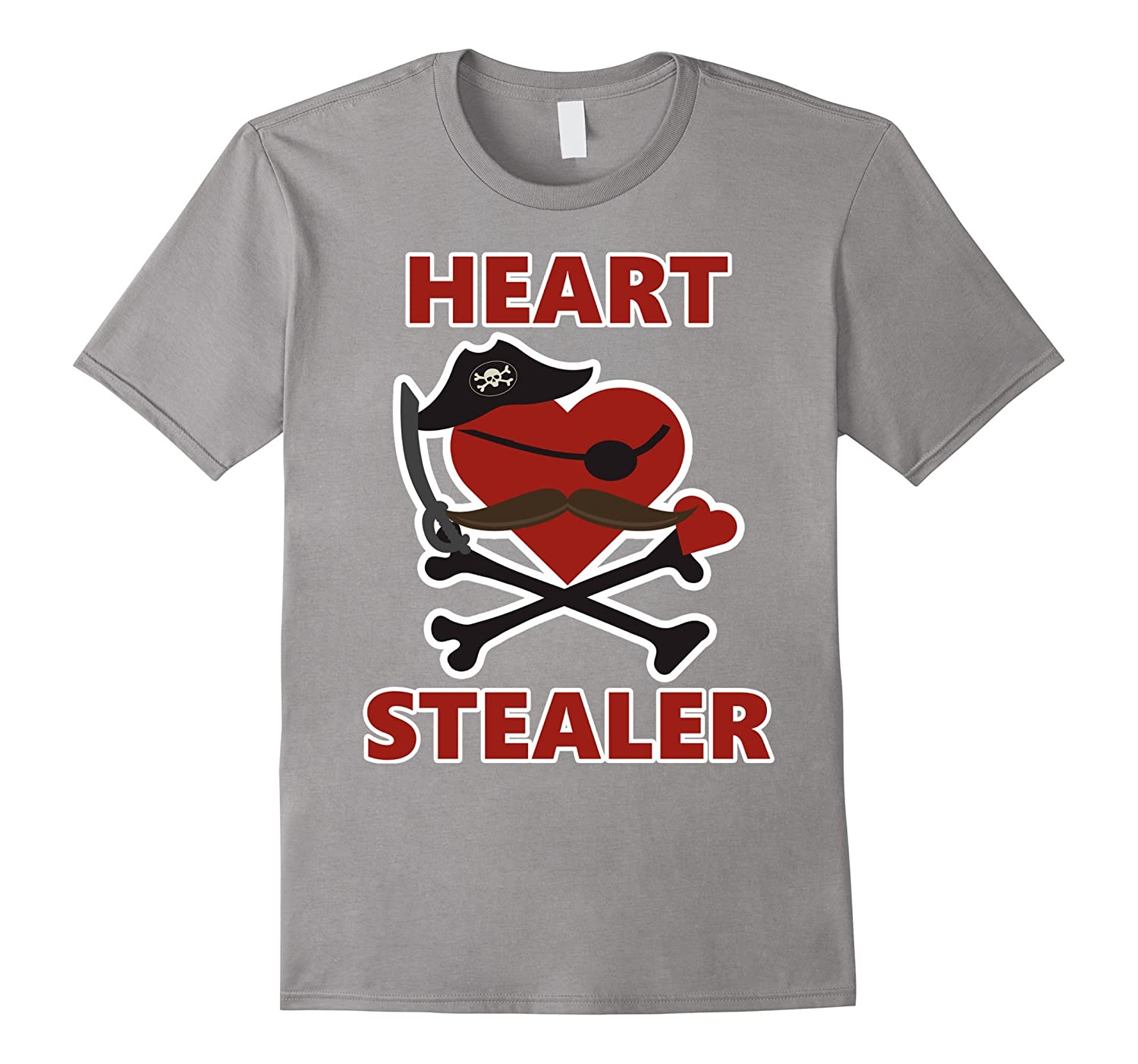 7bca42221b Cute HEART STEALER Toddler Boys Valentine Shirt for ALL AGES-CL ...