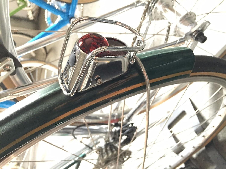 Head /& Tail Vintage Metal Bicycle light Retro Classic Road City Bike Chrome
