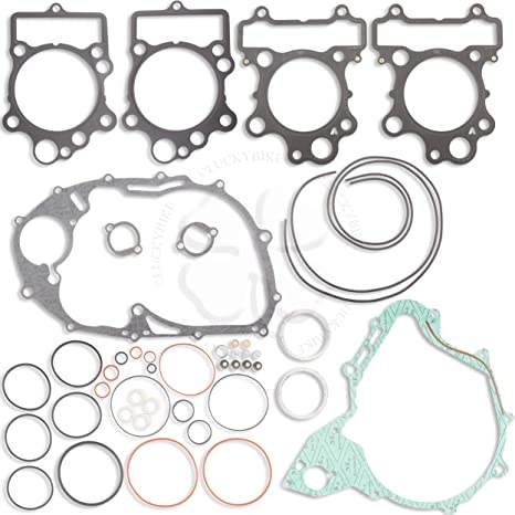 Complete Engine Gasket Rebuilt Kit Upper For Yamaha XVS 650 97-06 Seal