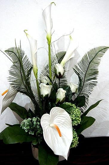 Tischdekoration Hochzeit Buro Deko Geschenk Tischgesteck Kunstblumen