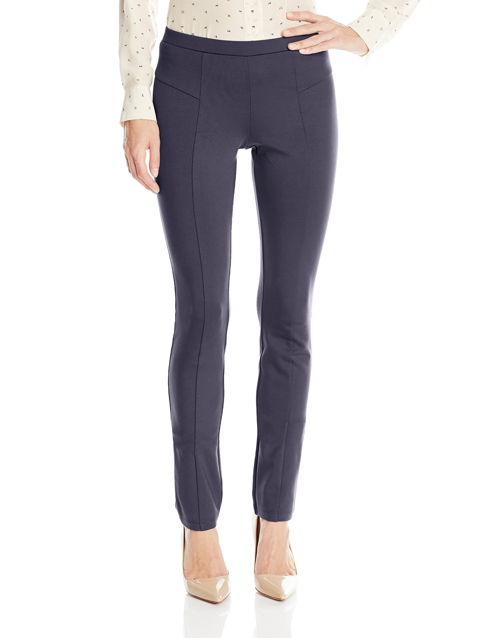 NIC+ZOE Women's Perfect Ponte Pant, Midnight, M