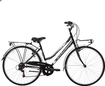 Bikevolution - Bicicleta urbana para mujer, ruedas de 28 pulgadas, 6...