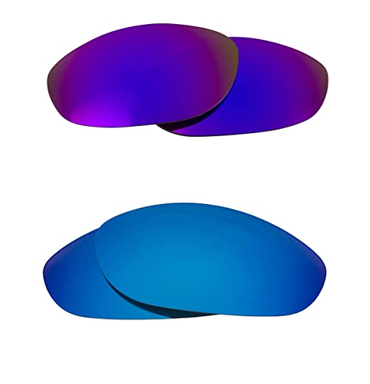 0547bcf637 Image Unavailable. Image not available for. Color  Monster Dog Replacement  Lenses Polarized Blue ...