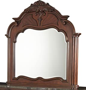 Michael Amini Excelsior Mirror for Dresser, Fruitwood