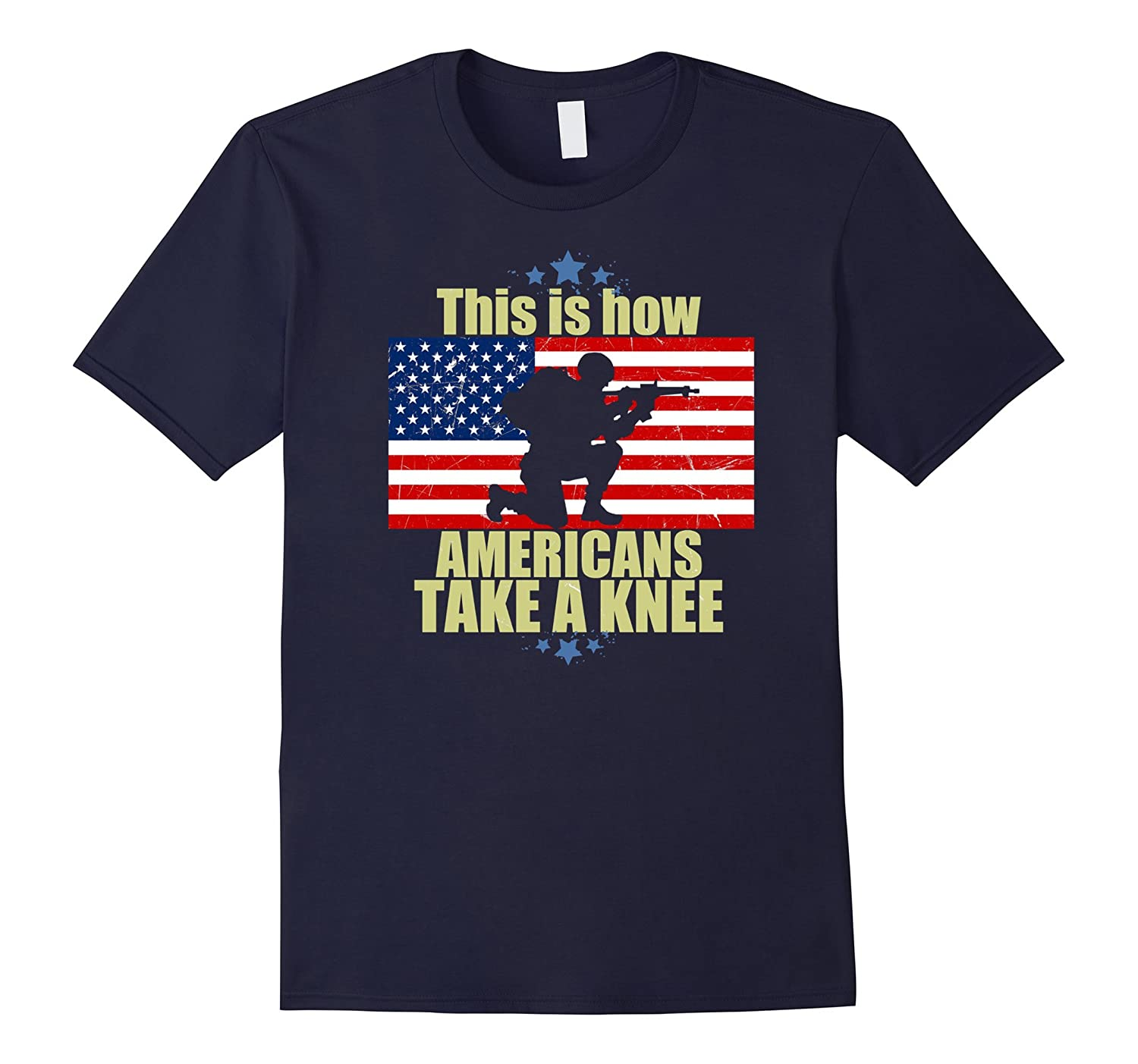 This is How Americans Tee Take a Knee T-Shirt-FL