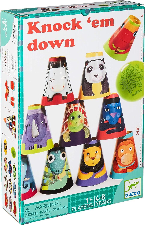 DJECO- Juegos hábil idad Maxi Chamboul, Multicolor (DJ02011): Amazon.es: Juguetes y juegos