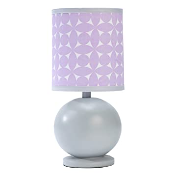 Happy Chic Baby By Jonathan Adler Lamp U0026 Shade   Emma Collection,  Lavendar/White