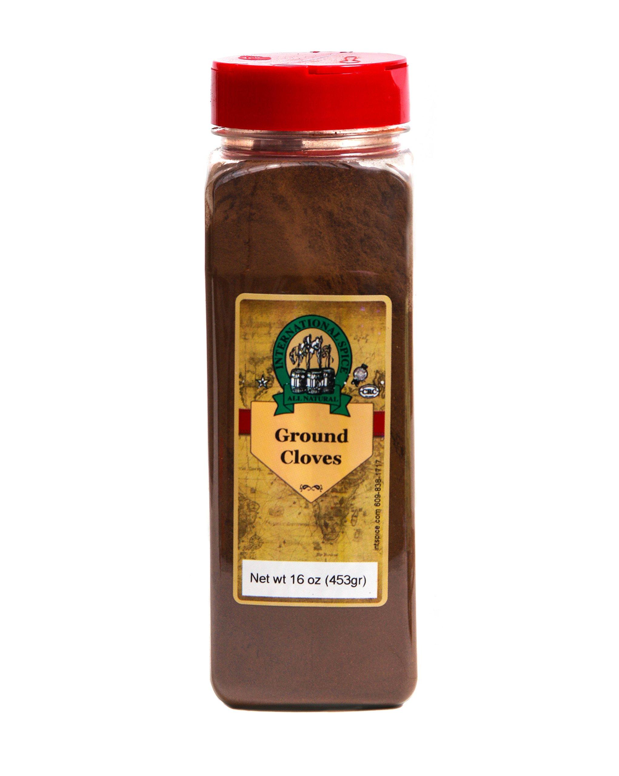 International Spice Premium Gourmet Spices- CLOVES GROUND: 16 oz