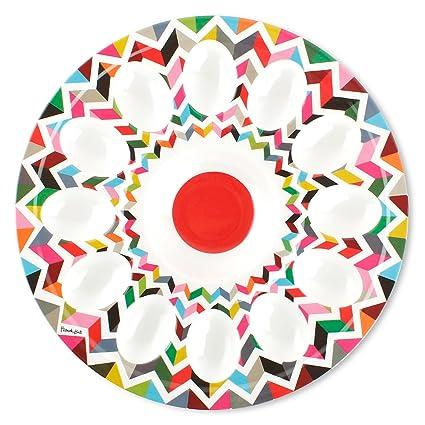 French Bull 12\u0026quot; Egg Tray - Melamine Dinnerware - Platter Dish Serving  sc 1 st  Amazon.com & Amazon.com: French Bull 12\