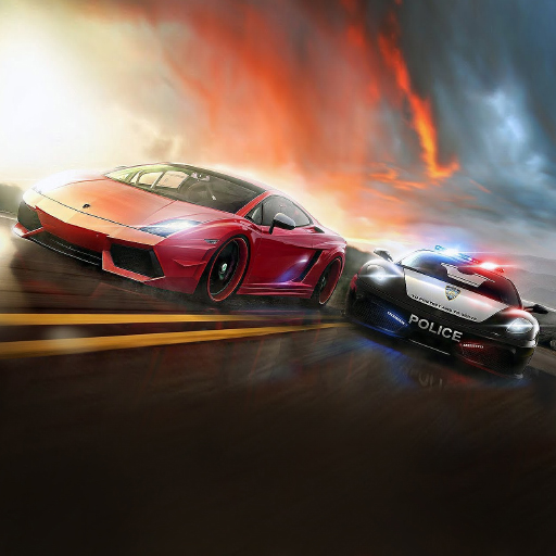 City Police Car Chase: Helicopter & Racing - Cost Games Of