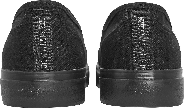 5 UK Black 39 EU Blk//Blk Urban Classics Unisex Adults Low Sneaker Slip on Trainers