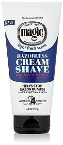 SoftSheen Carson Magic Regular Razorless Cream Shave 6 Oz (Pack of 6)