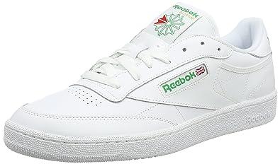 c6c2f43a630bc Reebok Men s Club C 85 ar0456 Low-Top Sneakers  Amazon.co.uk  Shoes ...
