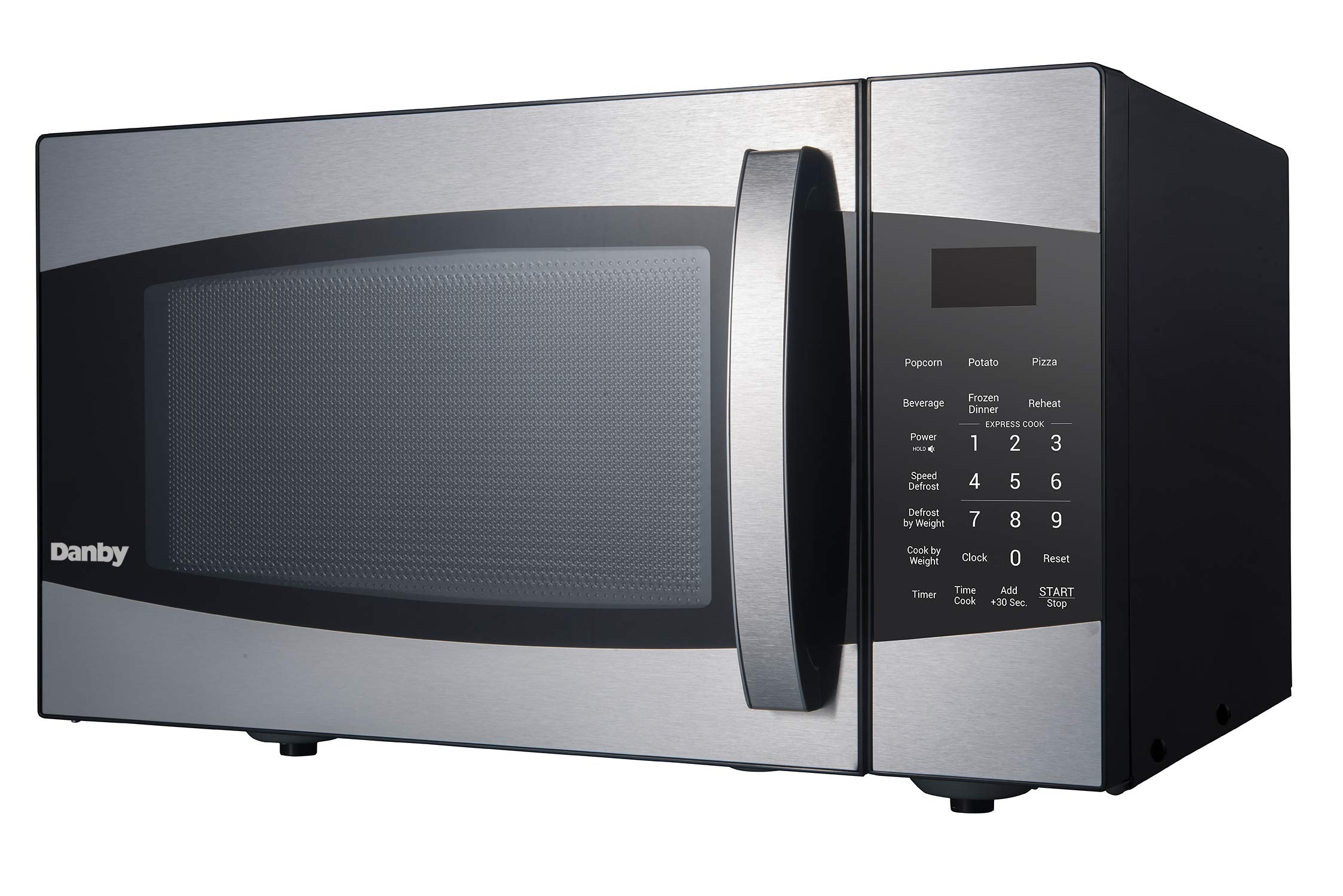 Danby DMW09A2BSSDB/99LD DMW09A2BSSDB 0.9 cu. ft. Microwave Oven, Stainless Steel.9 cu.ft, by Danby