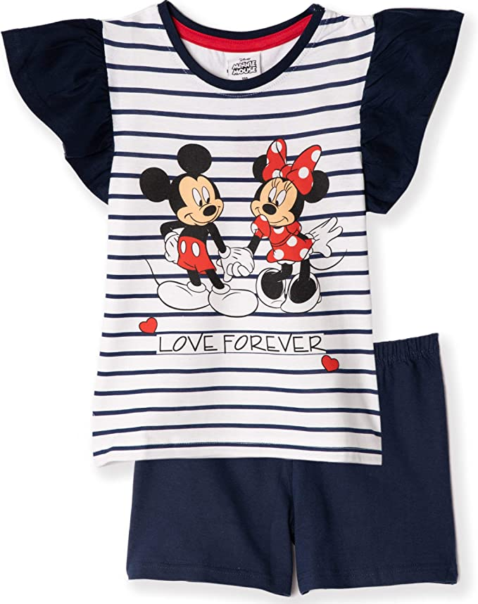 Girls Disney Minnie Mouse Long Sleeve cotton T-Shirt age 4 years up to 10 years