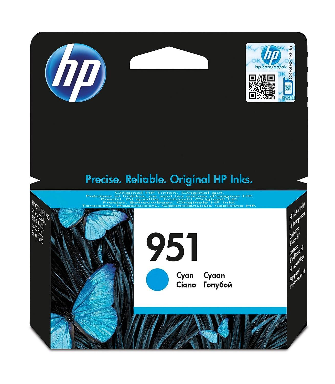 HP 950XL Cartuccia Originale Getto d'Inchiostro ad Alta Capacità, XL, Nero CN045AE Cartucce Inchiostroperstampanti Toner