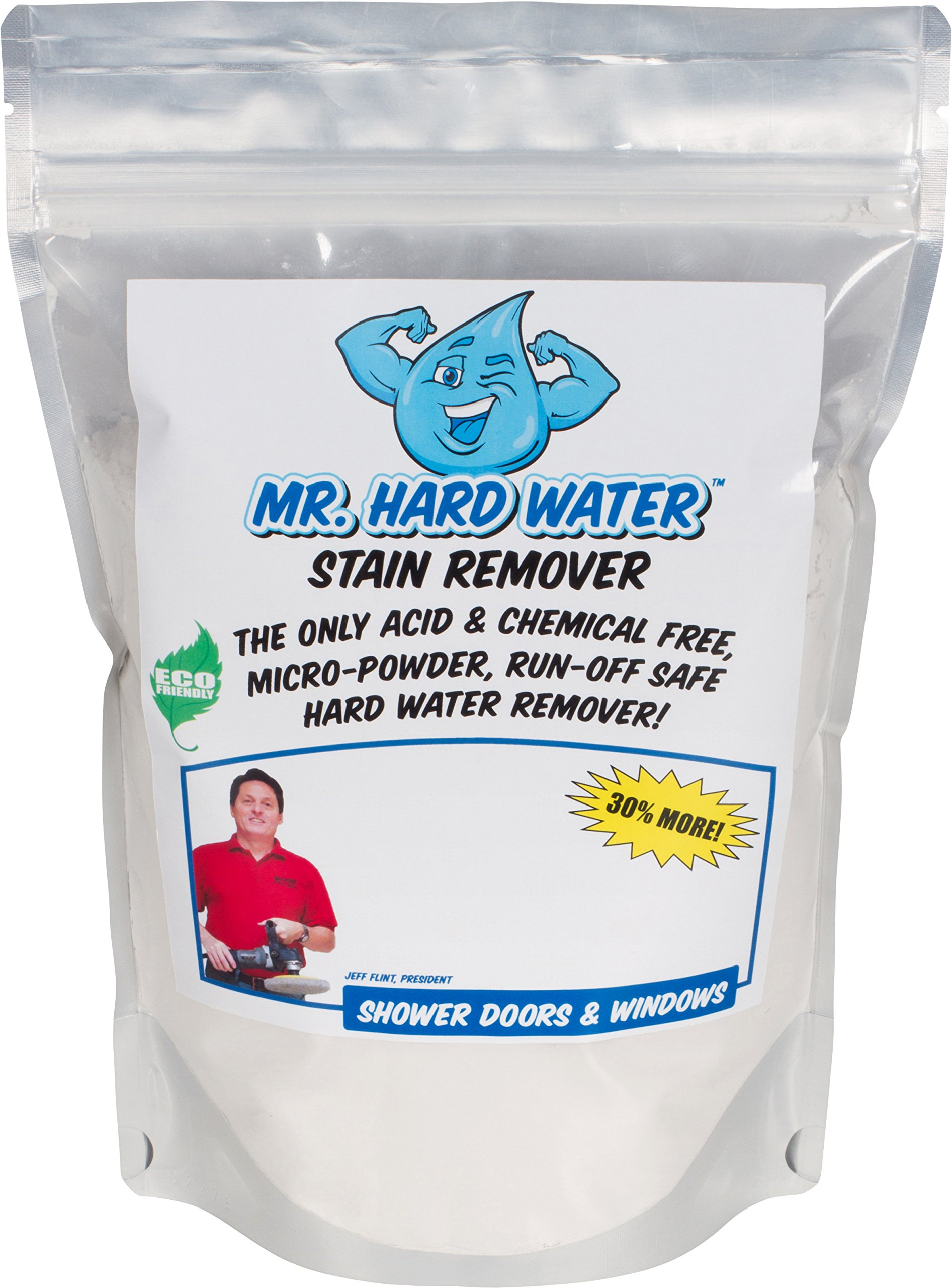 Mr. Hard Water Shower Door Polishing Powder, 5-Pound